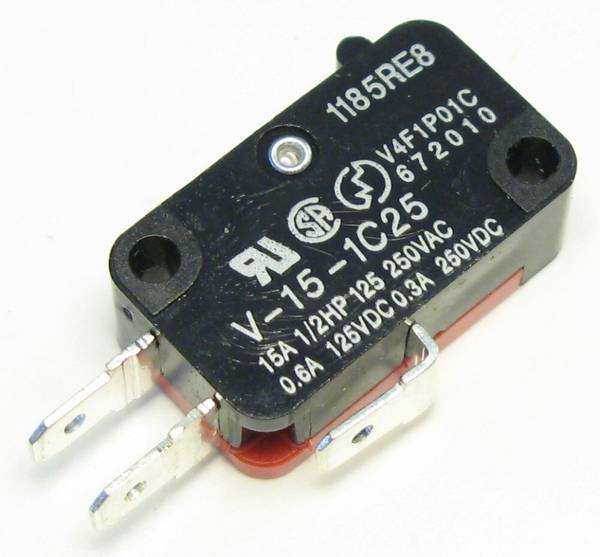Image of Omron Microswitch for Pushbuttons