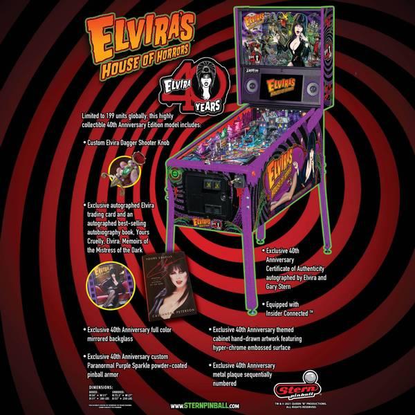 Image of Elvira 40th Anniversary Edition